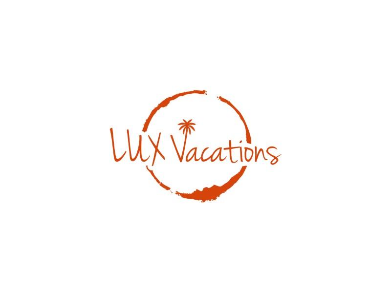 LUX Vacations logo design by sodimejo