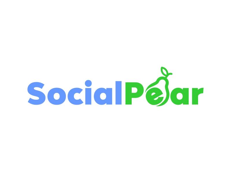 Social Pear logo design by IrvanB
