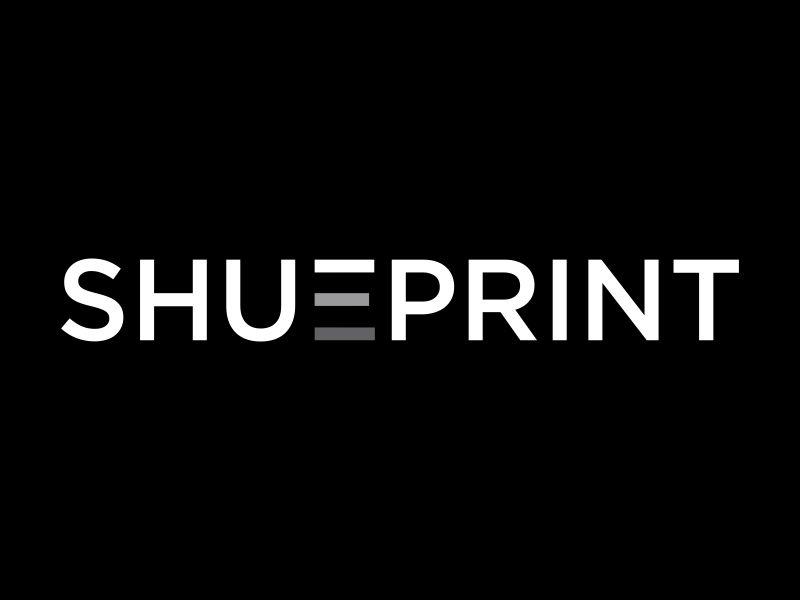 Shueprint logo design by oke2angconcept