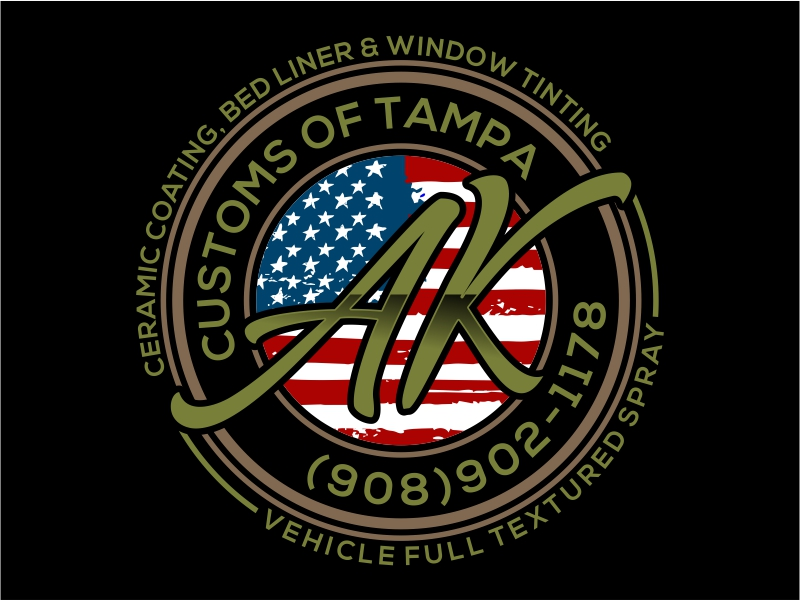 A&K Customs of Tampa logo design by cintoko