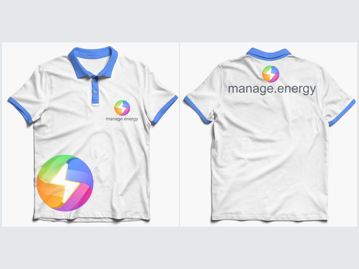 manage.energy logo design by Thuwan Aslam Haris