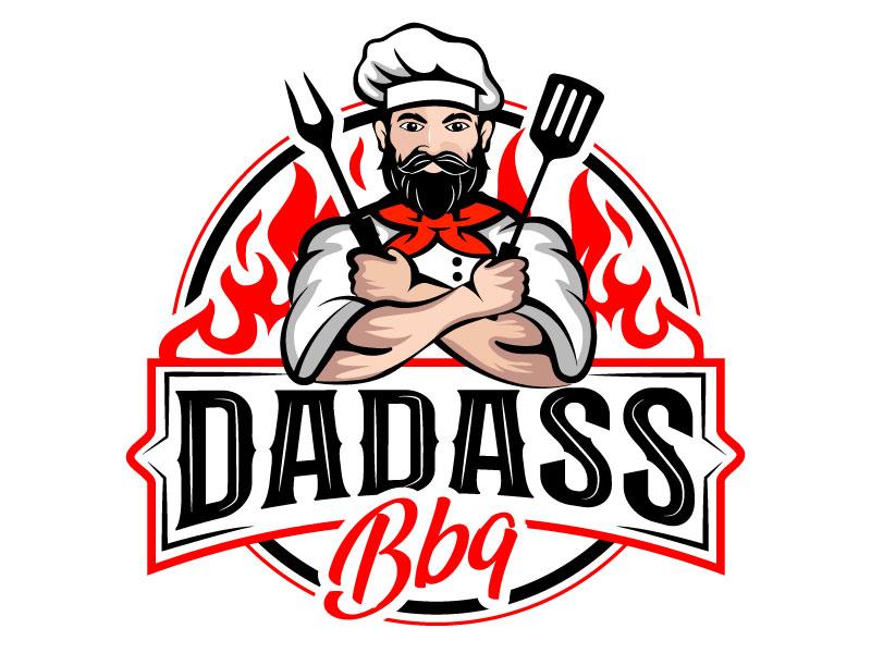 Dadass BBQ logo design by Bhaskar Shil