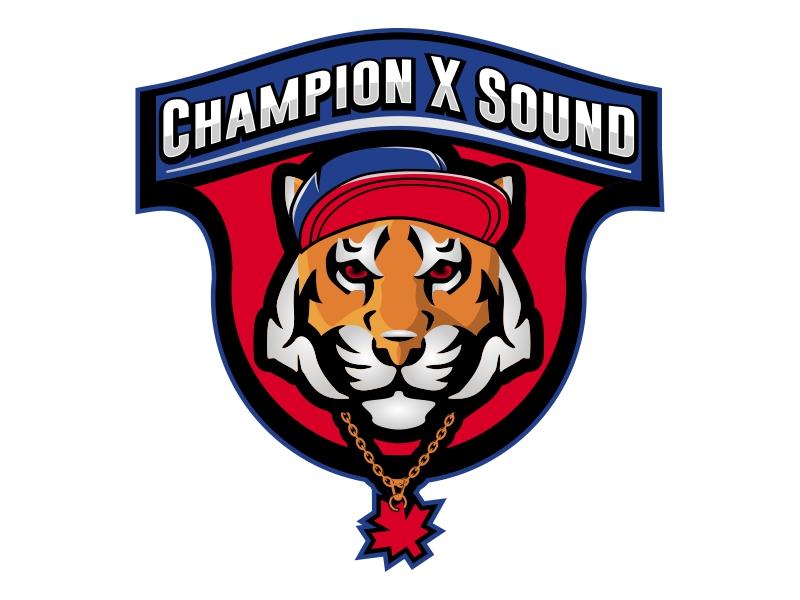 Champion X Sound logo design by Ryan Prapta Putra