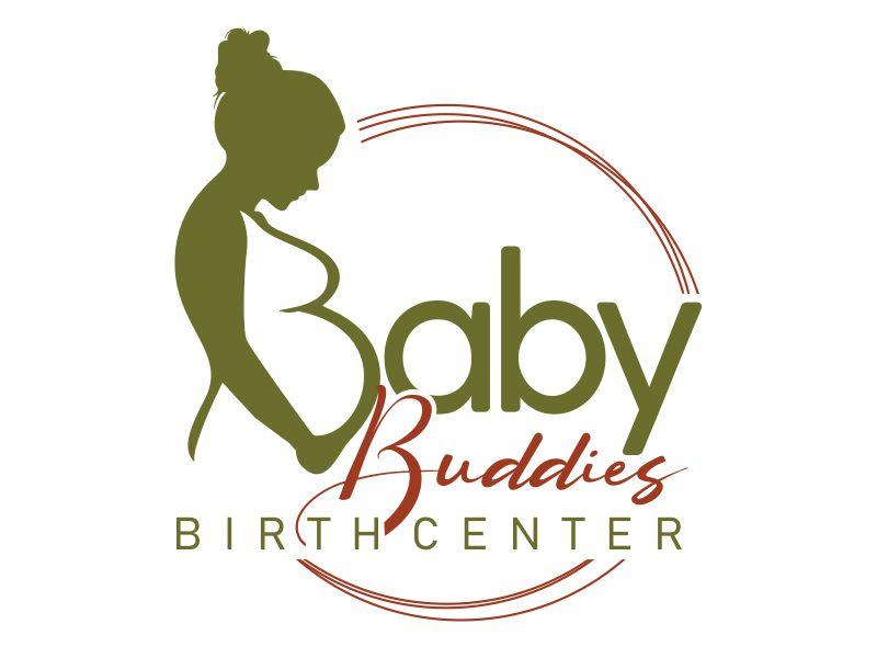 Baby Buddies Birth Center logo design by veron