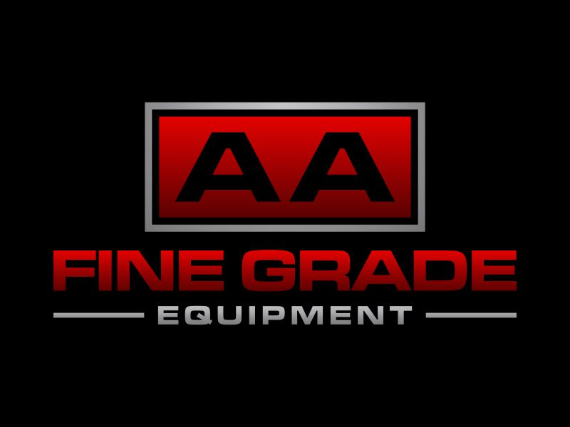 AA fine grade equipment logo design by p0peye