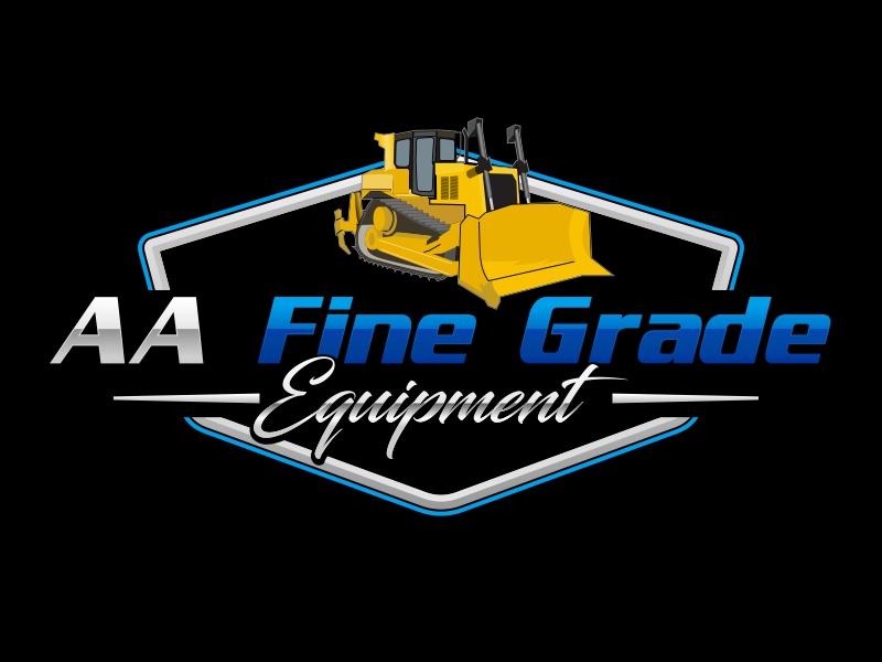 AA fine grade equipment logo design by rizuki