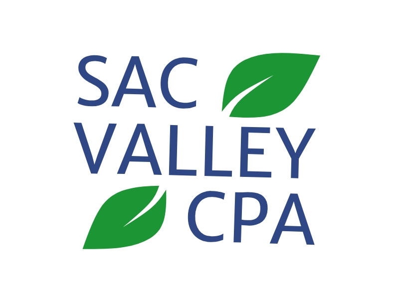 Sac Valley CPA logo design by Walv