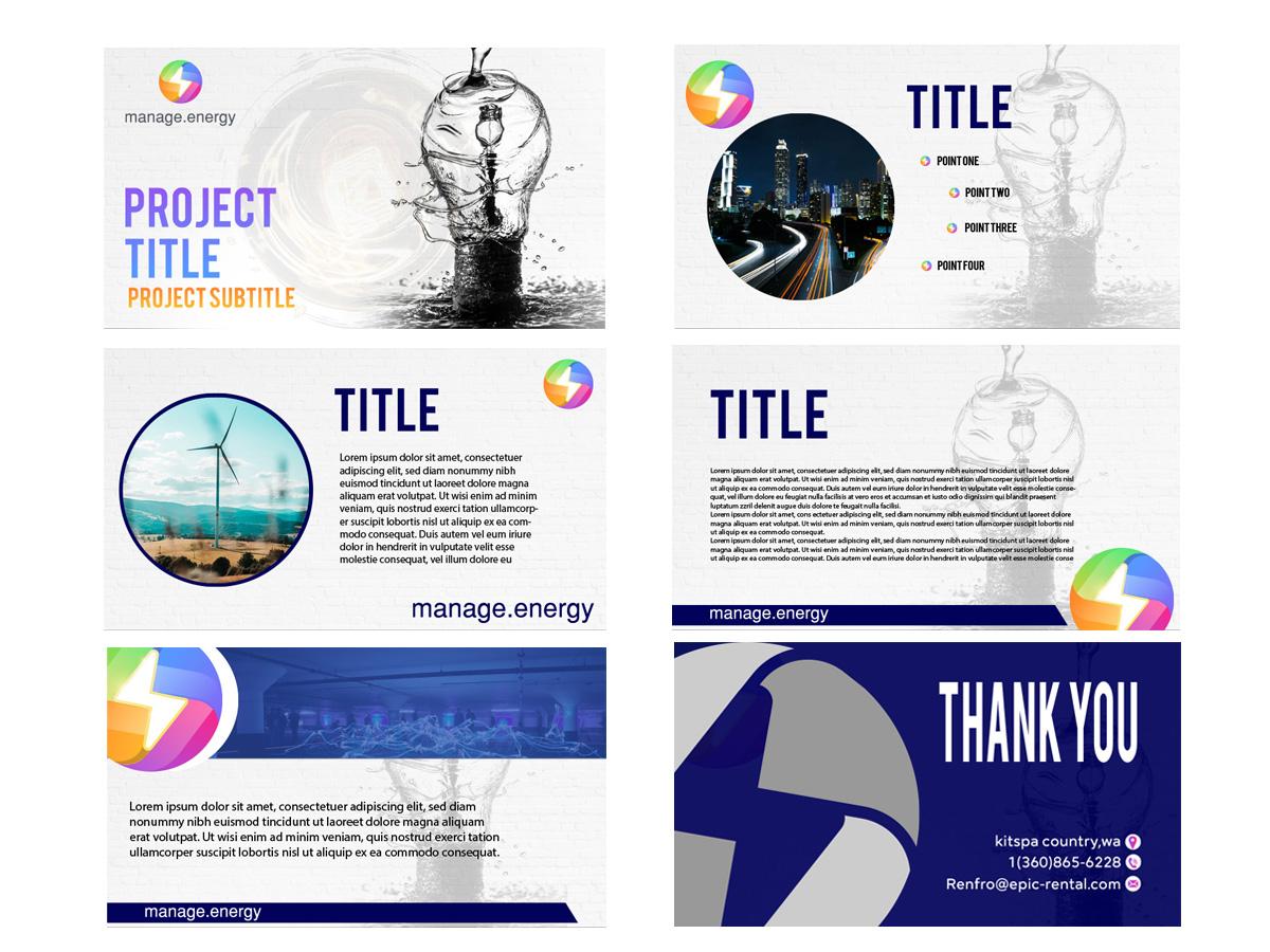 manage.energy logo design by grea8design