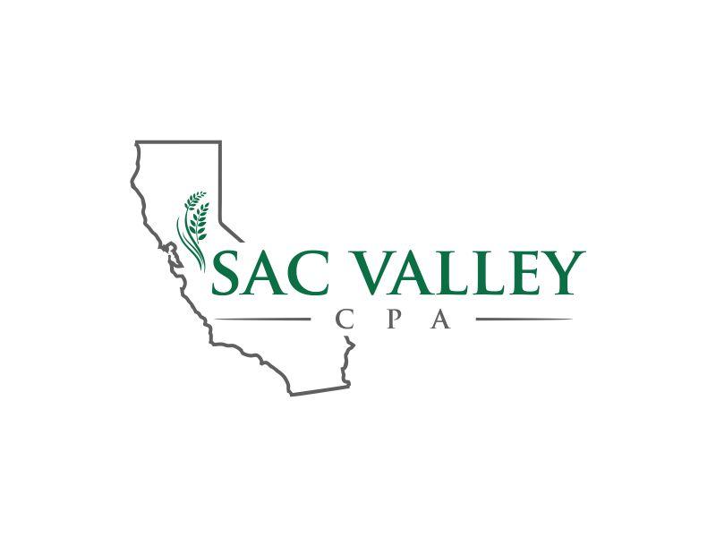 Sac Valley CPA logo design by oke2angconcept