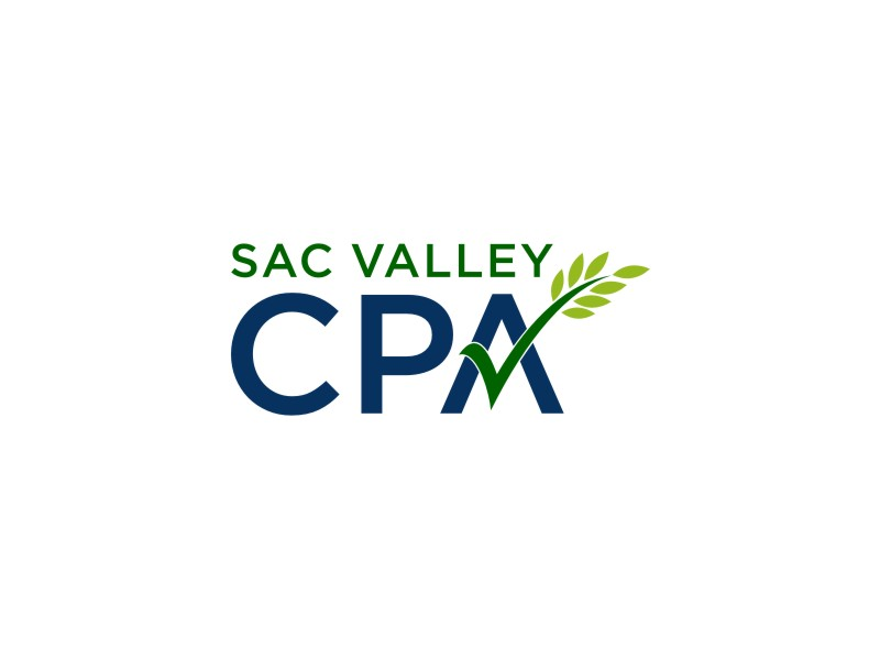 Sac Valley CPA logo design by Adundas