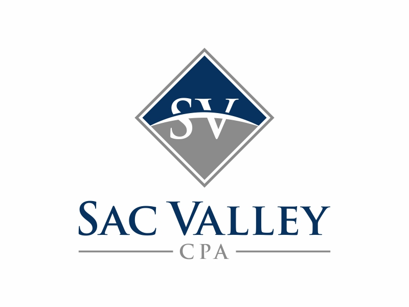 Sac Valley CPA logo design by puthreeone