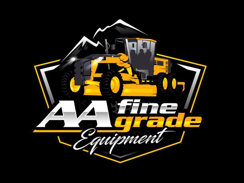 AA fine grade equipment logo design by sanworks