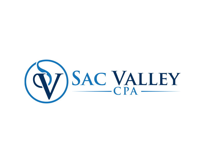 Sac Valley CPA logo design by MarkindDesign™