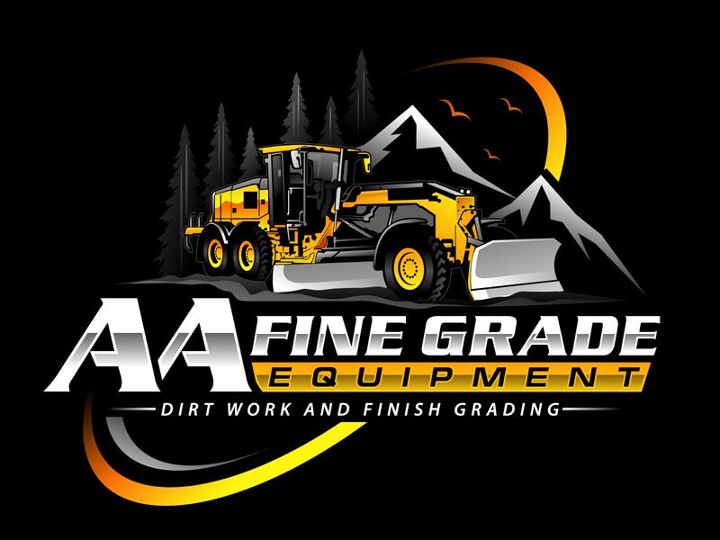 AA fine grade equipment logo design by DreamLogoDesign