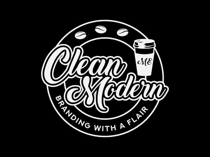 clean modern branding with a flair logo design by T Maulana Assa
