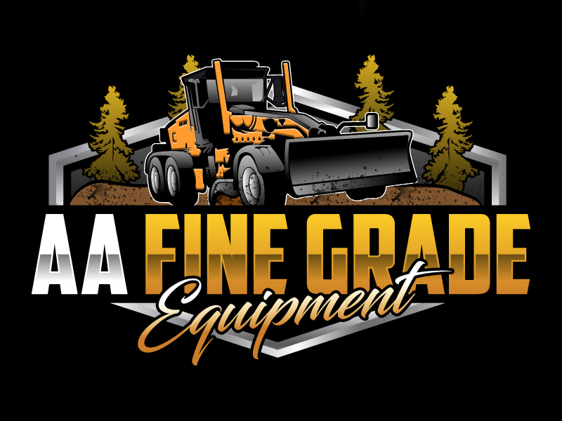 AA fine grade equipment logo design by Suvendu