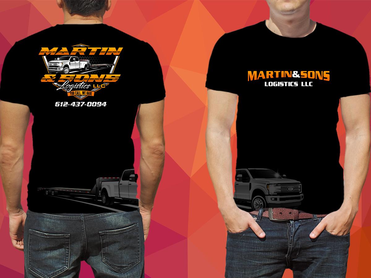Martin & Sons Logistics LLC logo design by grea8design