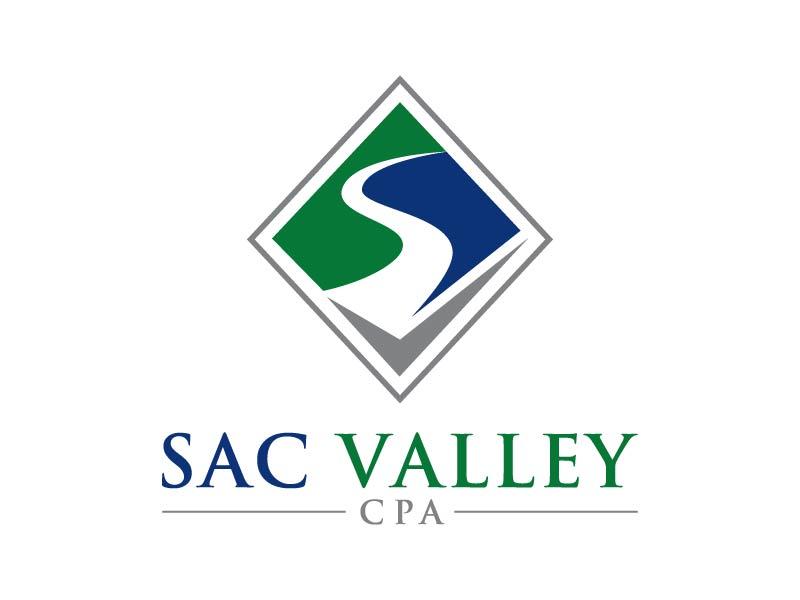 Sac Valley CPA logo design by Andri