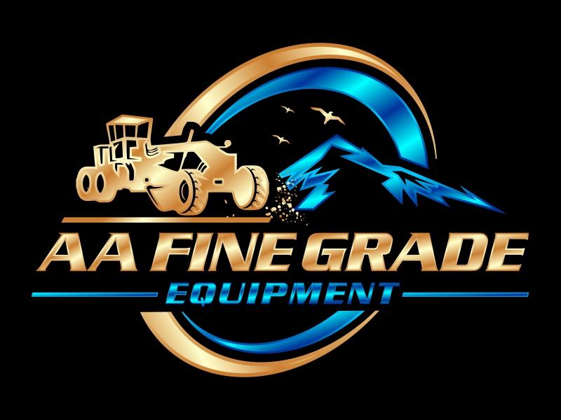 AA fine grade equipment logo design by hidro