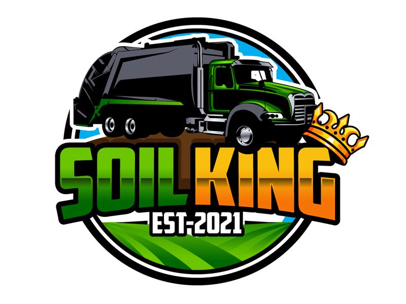 Soil King logo design by DreamLogoDesign