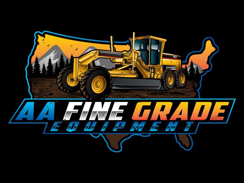 AA fine grade equipment logo design by LogoQueen