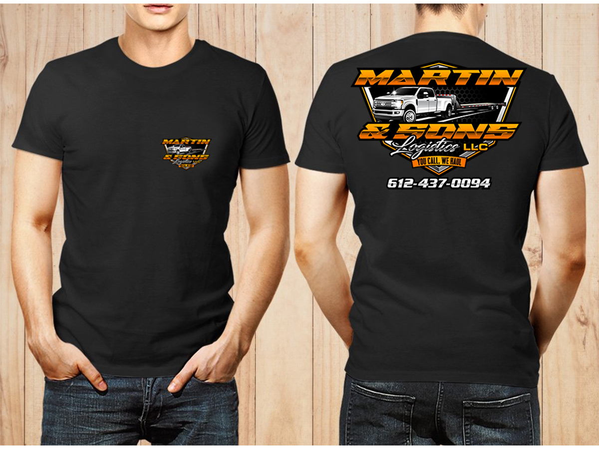 Martin & Sons Logistics LLC logo design by Thuwan Aslam Haris