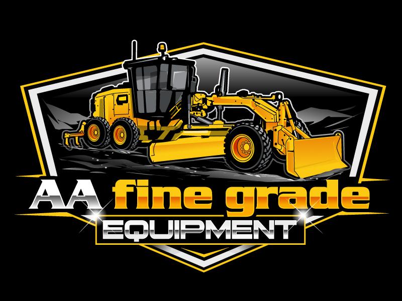 AA fine grade equipment logo design by uttam