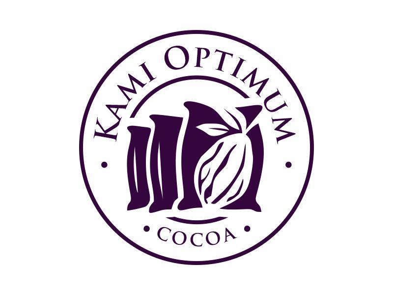 Kami Optimum Cocoa logo design by Gwerth