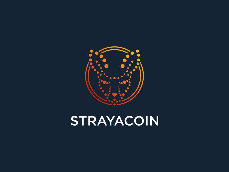 Strayacoin logo design by Rhiezone