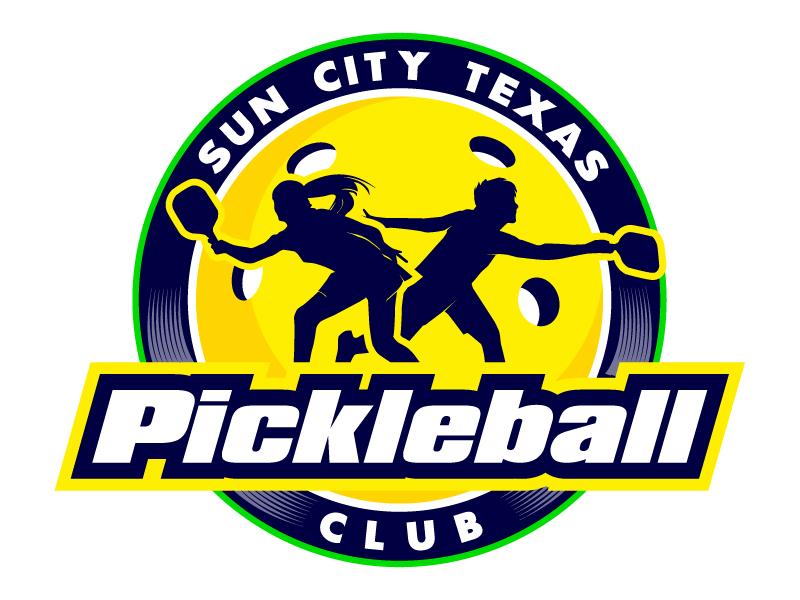 Sun City Texas Pickleball Club logo design by PRN123