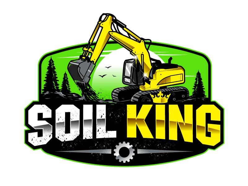 Soil King logo design by uttam