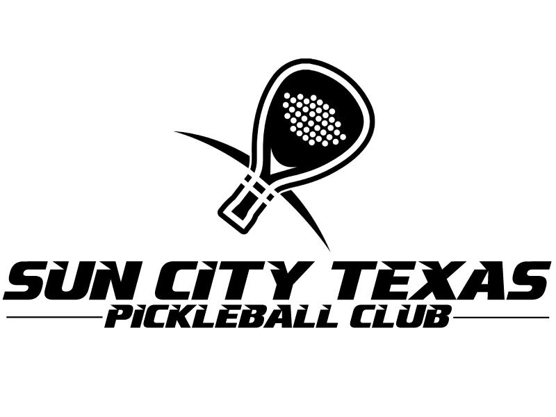 Sun City Texas Pickleball Club logo design by ElonStark