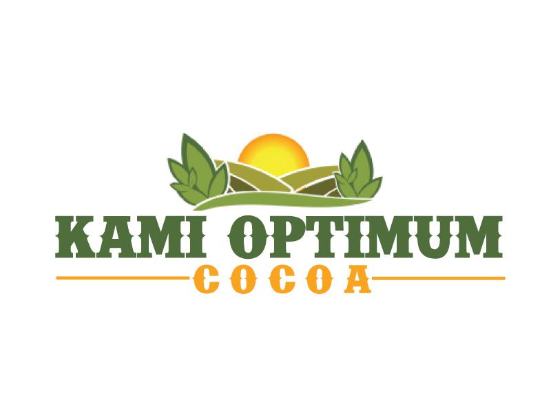 Kami Optimum Cocoa logo design by ElonStark