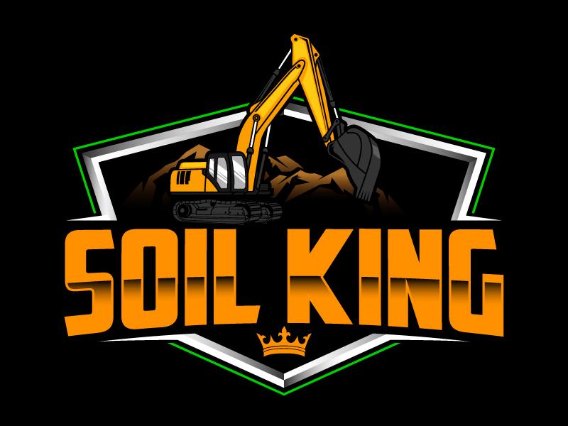 Soil King logo design by daywalker