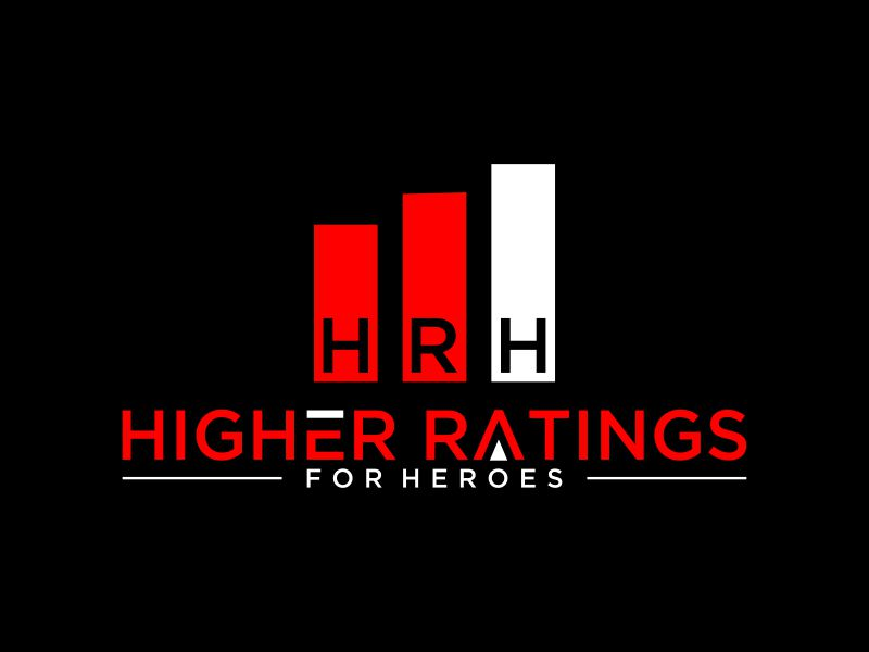 Higher Ratings For Heroes logo design by mukleyRx