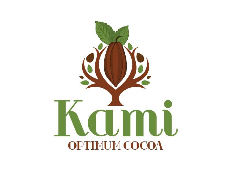 Kami Optimum Cocoa logo design by Pintu Das