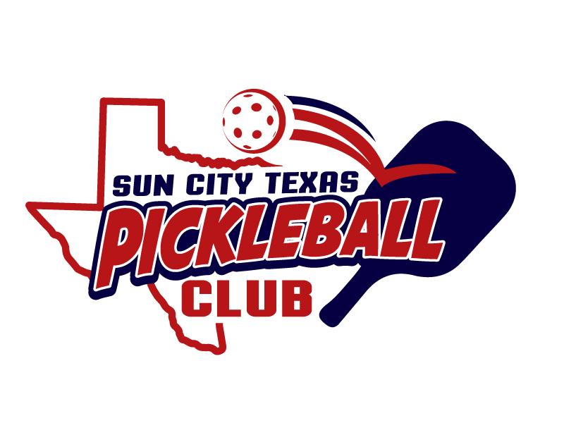 Sun City Texas Pickleball Club logo design by jaize