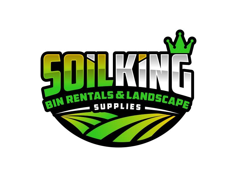 Soil King logo design by IrvanB