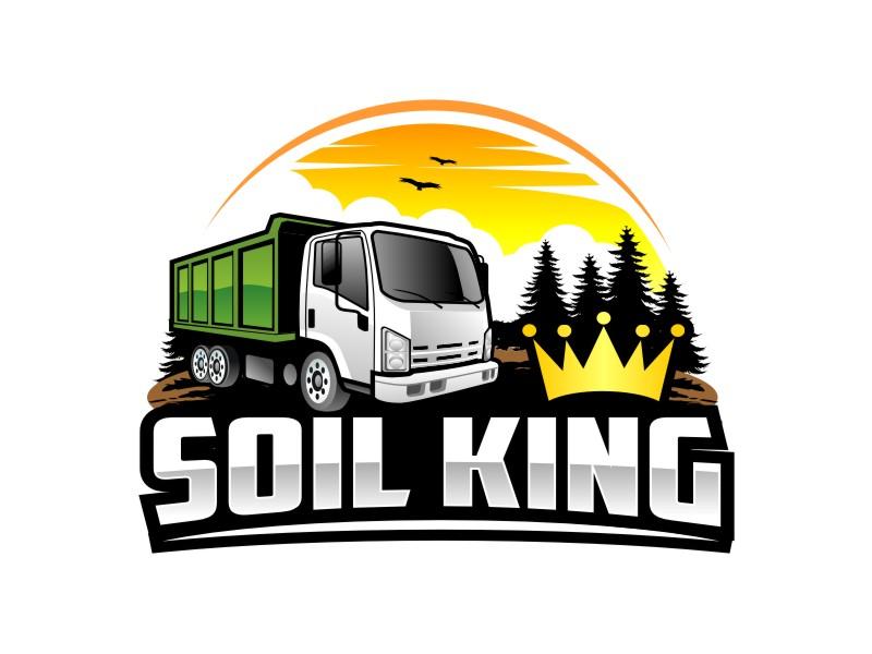 Soil King logo design by haze