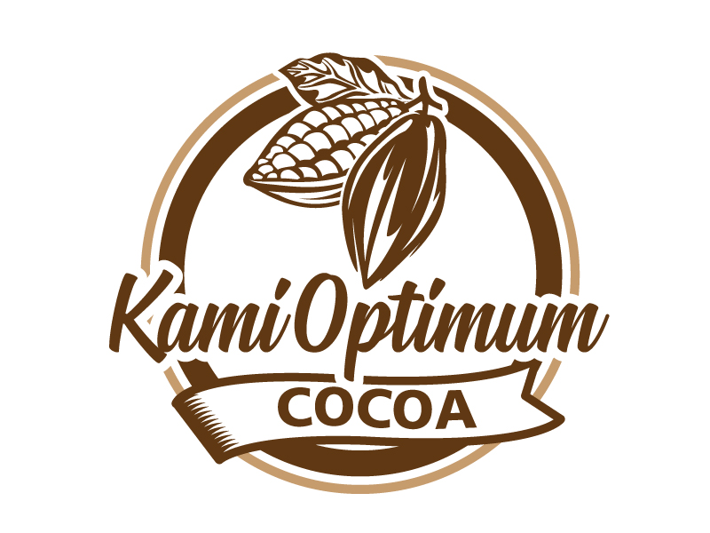 Kami Optimum Cocoa logo design by jaize
