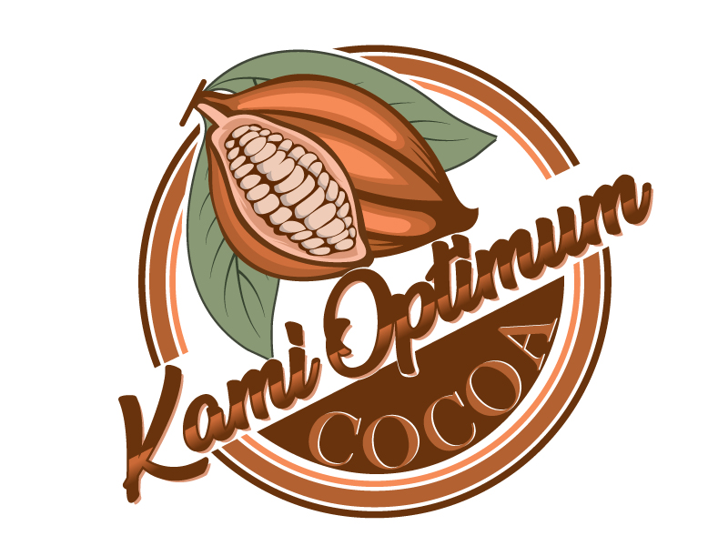 Kami Optimum Cocoa logo design by LogoQueen