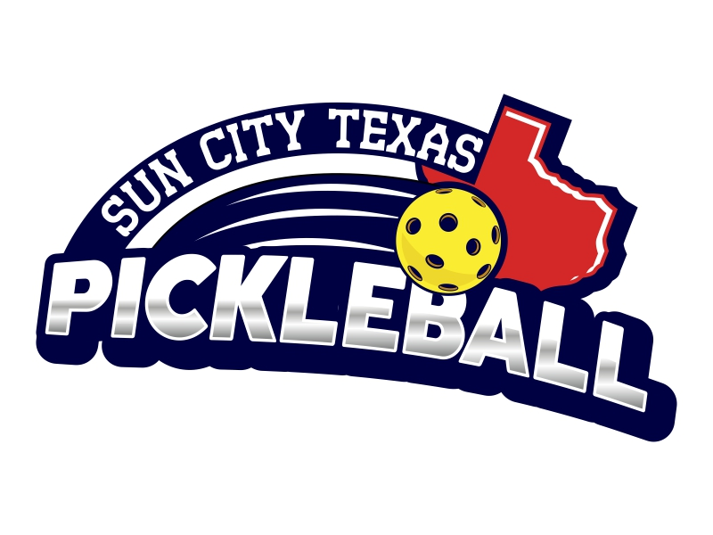 Sun City Texas Pickleball Club logo design by Ryan Prapta Putra