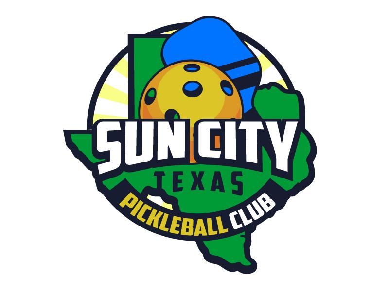 Sun City Texas Pickleball Club logo design by aRBy