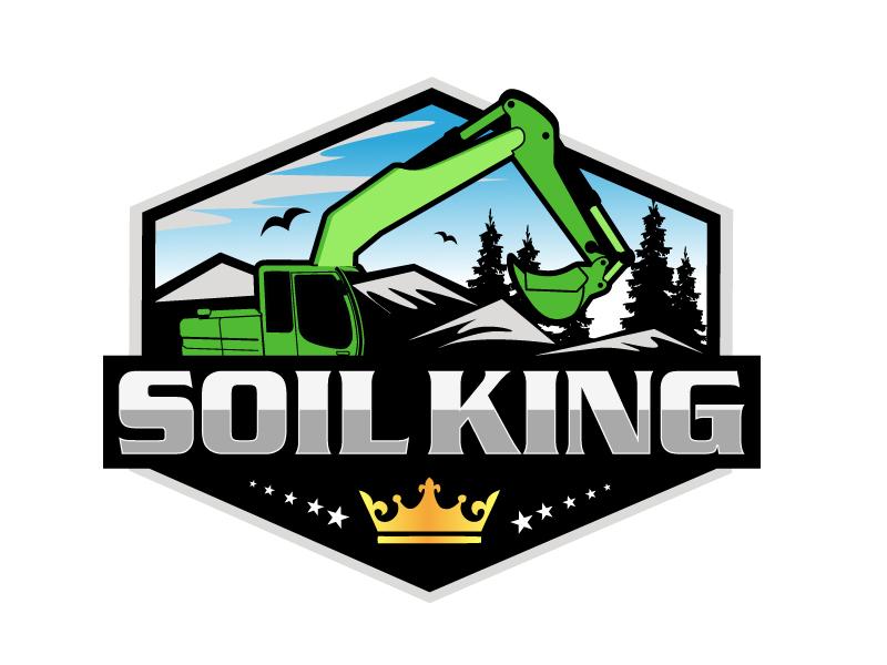 Soil King logo design by LucidSketch