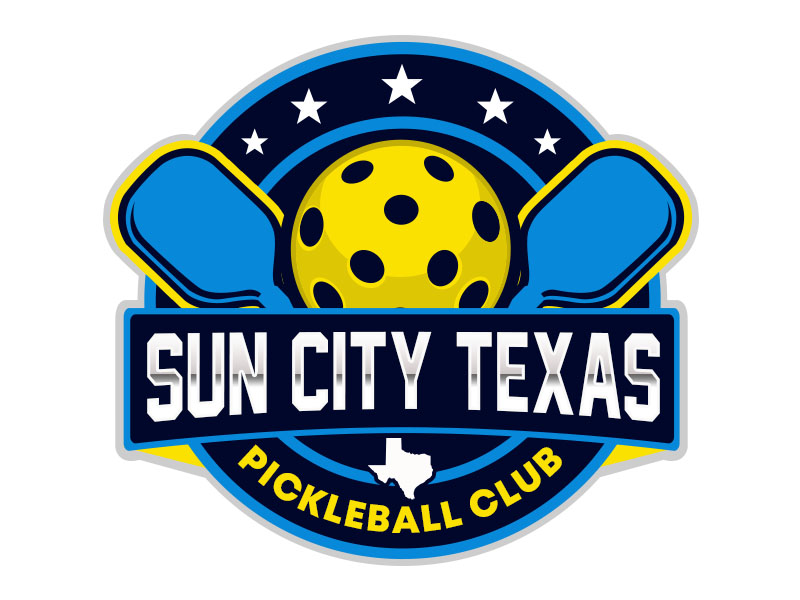 Sun City Texas Pickleball Club logo design by Benok