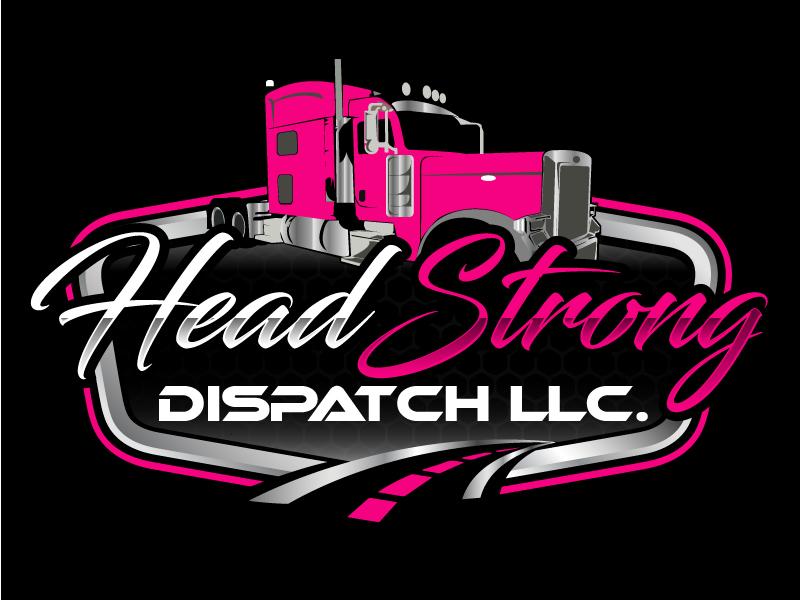 Head Strong Dispatch LLC. logo design by ElonStark