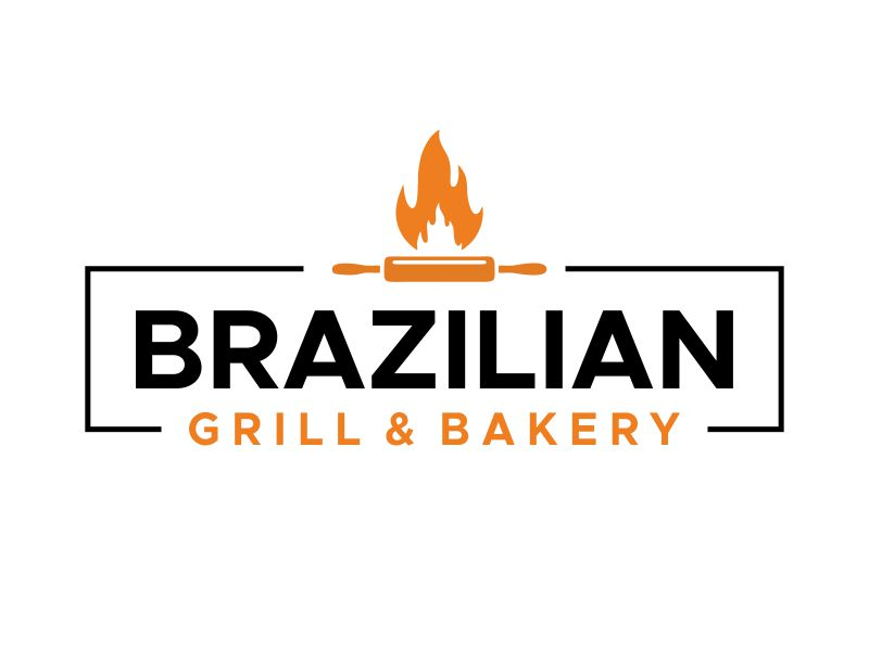 Brazilian Grill & Bakery logo design by kopipanas