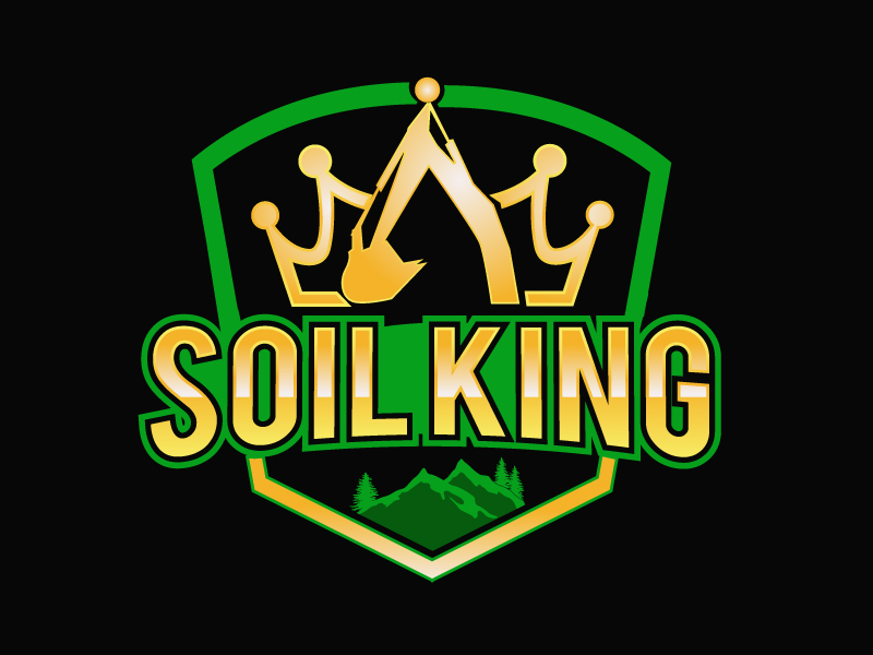 Soil King logo design by PMG