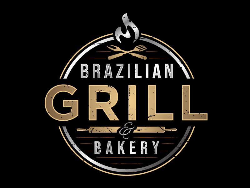 Brazilian Grill & Bakery logo design by nard_07