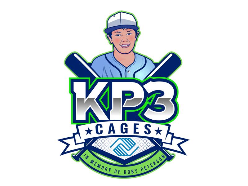KP3 Cages Logo Design